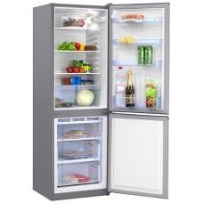 Двухкамерный холодильник Норд NRB 139 932 нержавеющая сталь